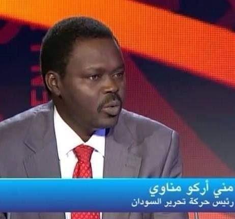 """مناوي: مروجي """"الهبوط الناعم"""" يسعون إلى الشقاق و لن نقبل باقل من اسقاط النظام"""